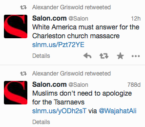 Salon Tweets